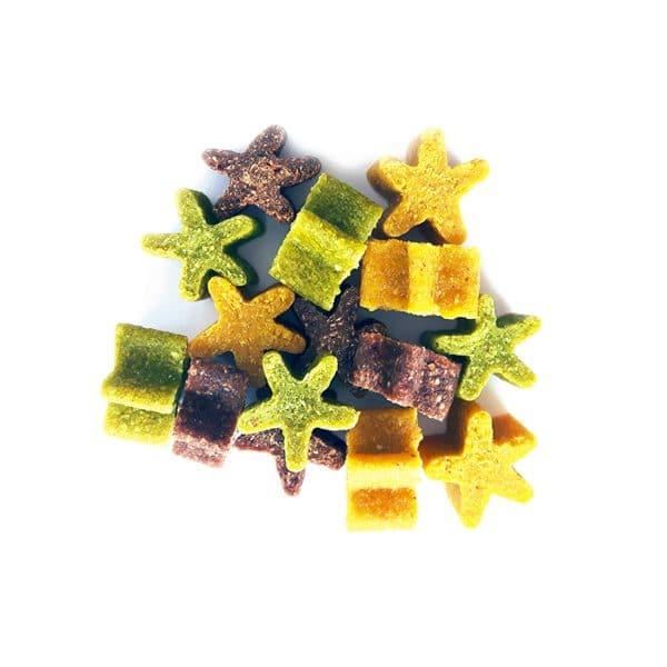 friandises mélange étoiles 100% naturelles pour chiens Greenheart Premiums