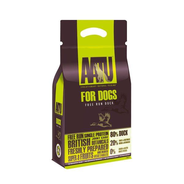 croquettes chien AATU canard sans céréales et gluten free