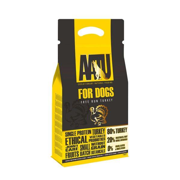 croquettes chien AATU dinde sans céréales et gluten free