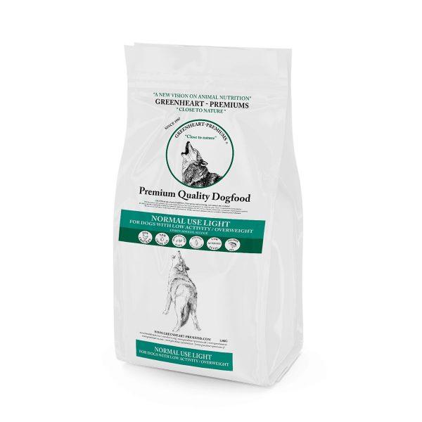 croquettes Normal Use Light Greenheart Premiums pour chiens peu actifs et/ou en surpoids