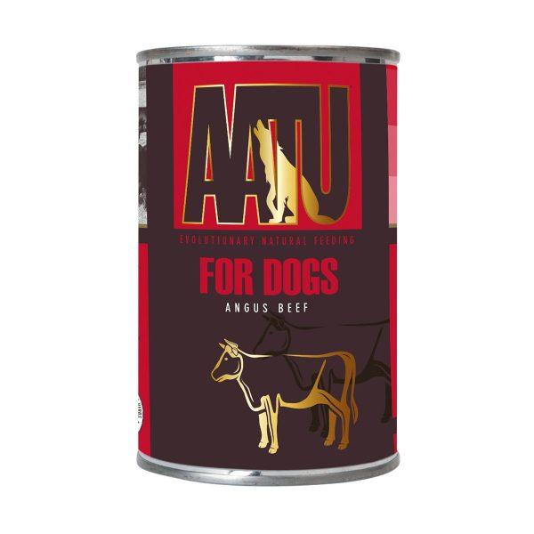 pâtée chien boeuf angus AATU sans céréales et gluten free
