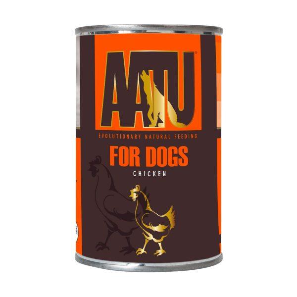 pâtée chien poulet AATU sans céréales et gluten free