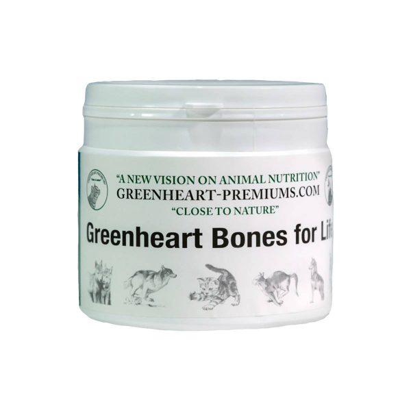 complément alimentaire pour les os des chiens et chats Greenheart Premiums