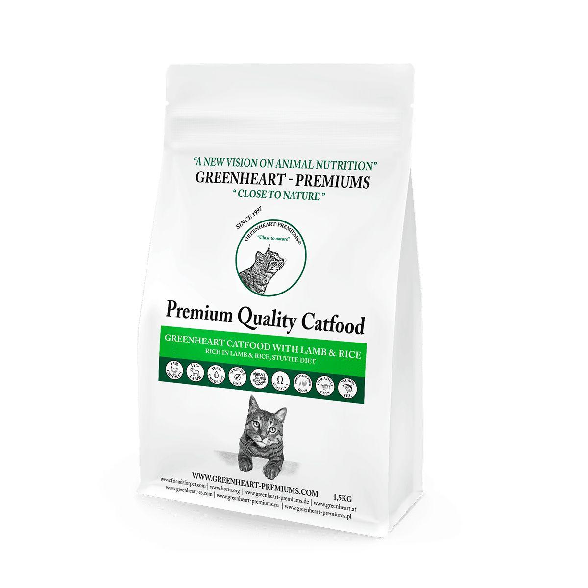 croquettes chat agneau rien Greenheart Premiums