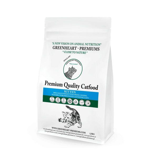 croquettes chaton greenheart premiums