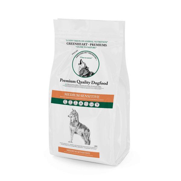 croquettes chien Médium Sensitive Greenheart Premiums