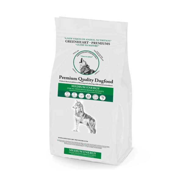 croquettes chien Medium Energy Greenheart Premiums