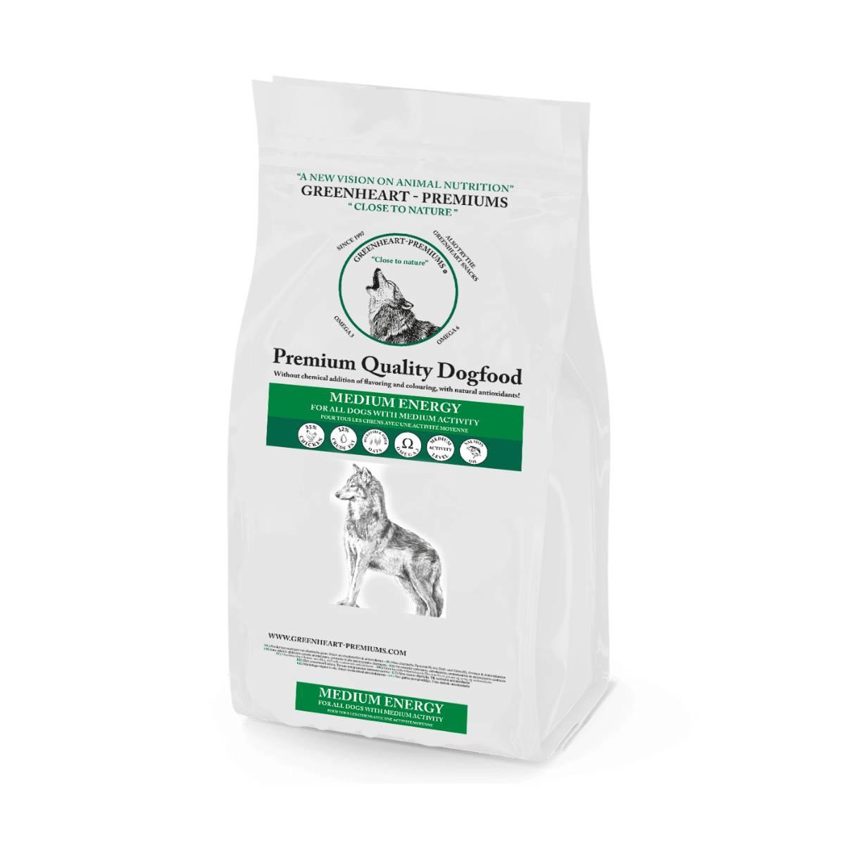 croquettes chien Medium Energy Greenheart Premiums