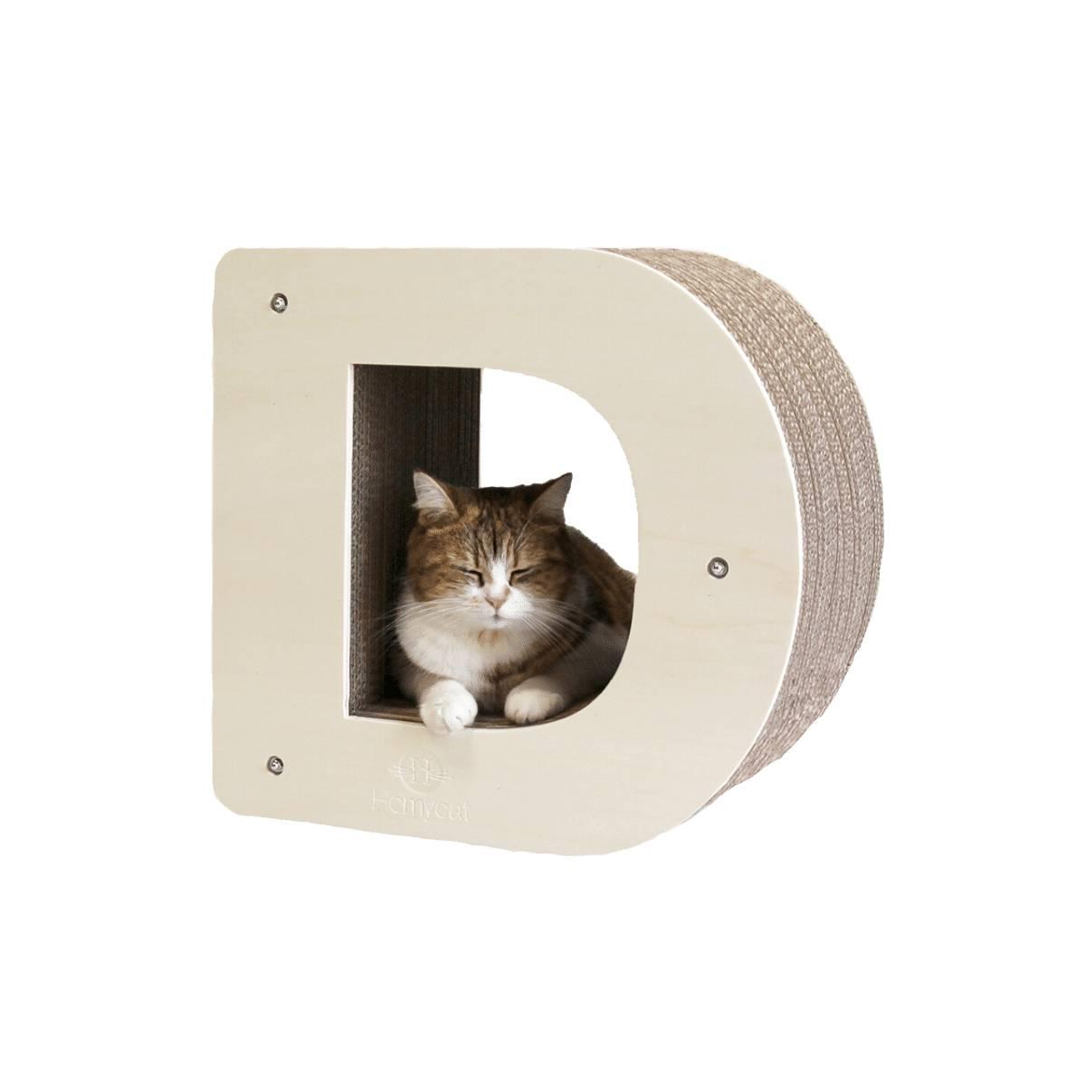 Griffoir chat lettre D Homycat