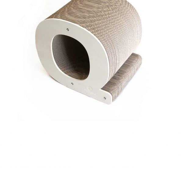 Griffoir chat recyclable lettre Q Homycat