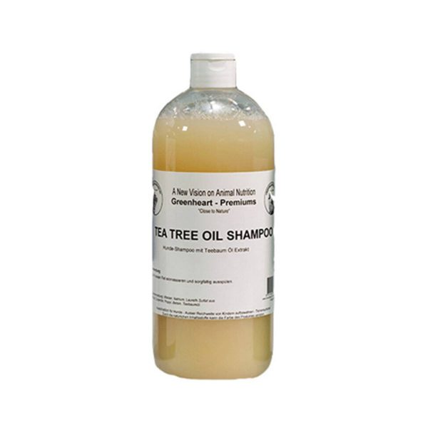 shampoing chien arbre à thé Greenheart Premiums