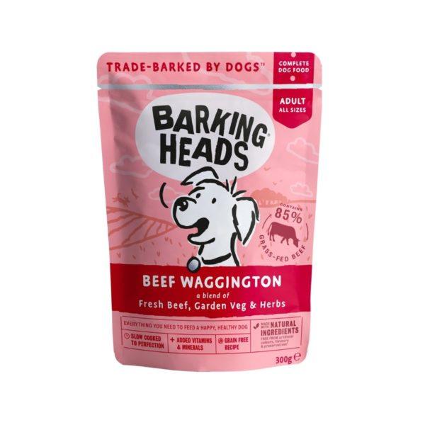 Pâtée sans céréales au boeuf pour chien toutes races - Aliment complet