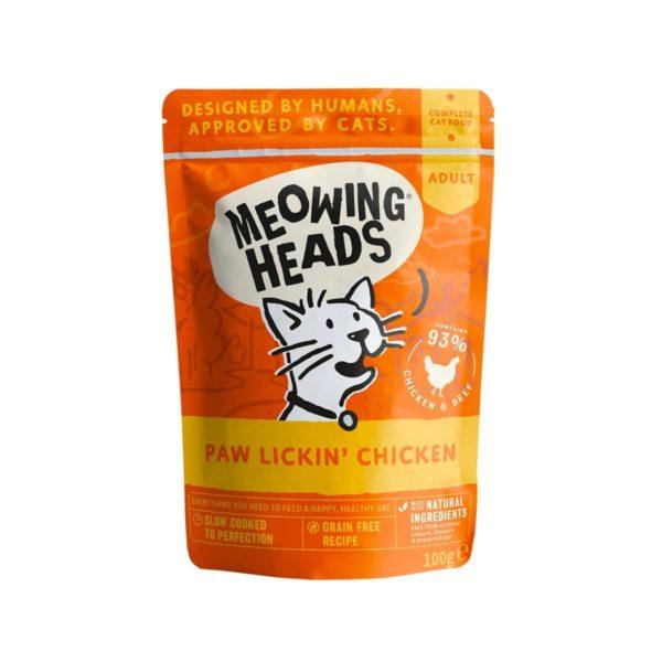 Meowing-Heads-Sachet-Fraicheur-Chat-Paw-Lickin'-Chicken-Super-Croquettes
