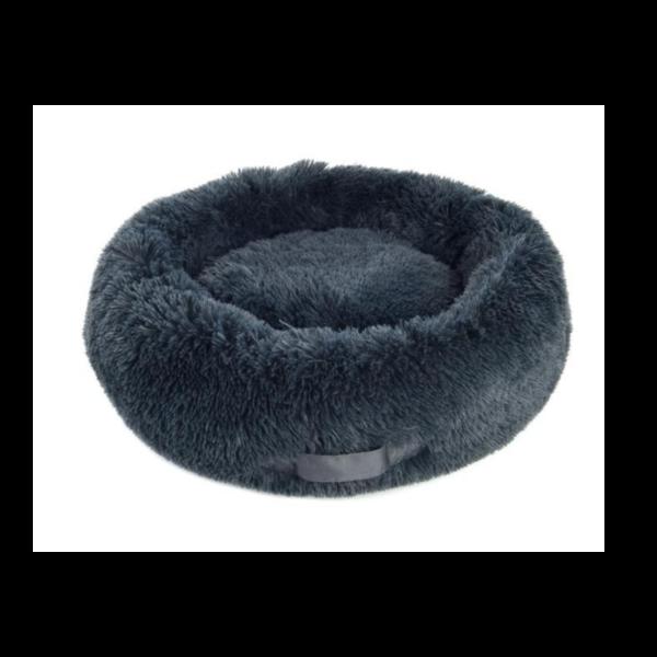 Ferribiella lit chien chat gris-noir relaxant et apaisant